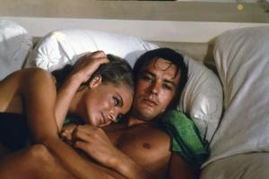 La piscine by Jacques Deray with Alain Delon and Romy Schneider, 1969 (photo)