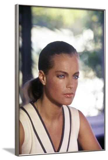La Piscine by Jacques Deray with Romy Schneider, 1969 (photo)--Framed Photo