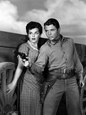 La riviere sanglante (DRUMS ACROSS THE RIVER) by Nathan Juran with Lisa Gaye and Audie Murphy, 1954
