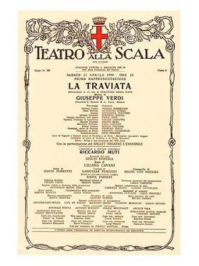 La Scala: Verdi Opera Traviata