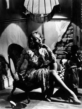 La scandaleuse by Berlin A Foreign Affair by BillyWilder with Marlene Dietrich, 1948 (b/w photo)