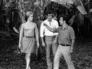 LA SIRENE DU MISSISSIPI, 1969 directed by FRANCOIS TRUFFAUT On the set, Catherine Deneuve, Jean-Pau