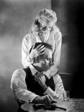 La Soif du Mal TOUCH OF EVIL by OrsonWelles with Charlton Heston and Janet Leigh, 1958 (b/w photo)