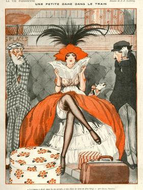 La Vie Parisienne, Julien Jacques Leclerc, 1920, France