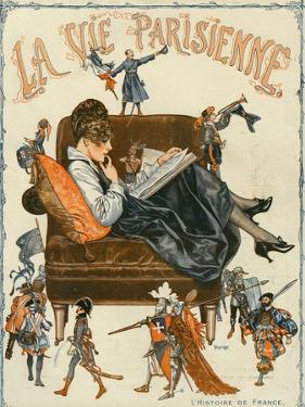 La Vie Parisienne, Magazine Cover, France, 1920