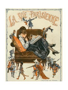 La Vie Parisienne, Magazine Cover, France, 1920