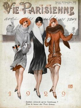 La Vie Parisienne, Magazine Cover, France, 1928