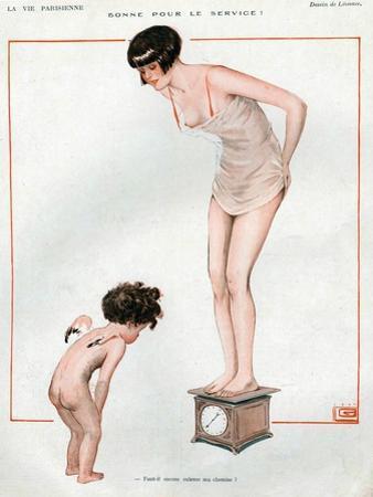 La Vie Parisienne, Magazine Plate, France, 1924