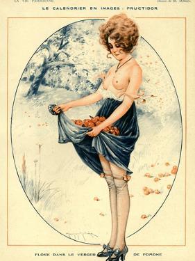 La Vie Parisienne, Maurice Milliere, 1918, France