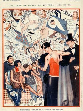 La Vie Parisienne, Vald'es, 1924, France