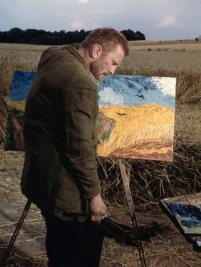 La vie passionnee by Vincent Van Gogh Lust For Life by VincenteMinnelli with Kirk Douglas, 1956 (ph