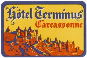 Label, Carcassonne Hotel