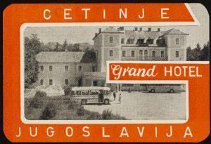 Label Cetinje Hotel