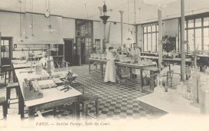 Laboratory, Pasteur Institute