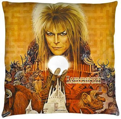 Labyrinth - Crystal Ball Throw Pillow