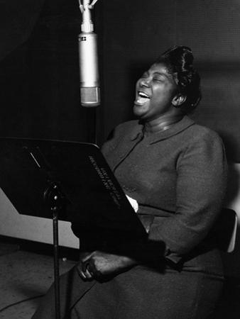Mahalia Jackson - 1961 by Lacey Crawford