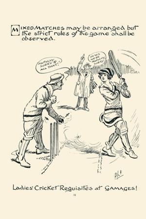 Ladies Cricket Requisites