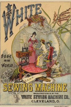 Ladies Looking at Sewing Machine
