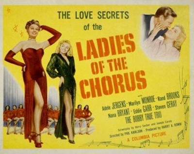 Ladies of the Chorus, Adele Jergens, Marilyn Monroe, 1948