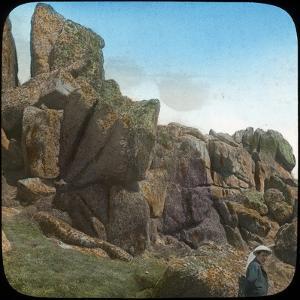 Ladies Wishing Chair, Logan Rock, Near Treen, Cornwall, Late 19th or Early 20th Century