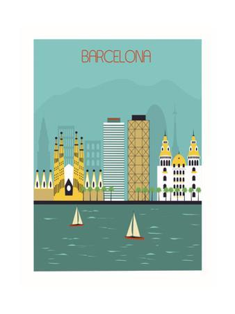 Barcelona. by Ladoga
