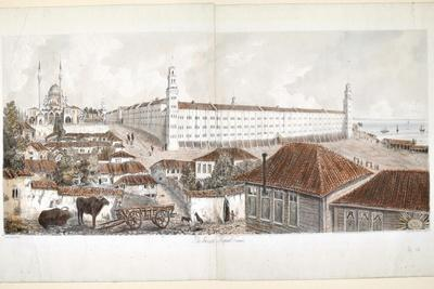 View of the Barrack Hospital at Scutari, 1857