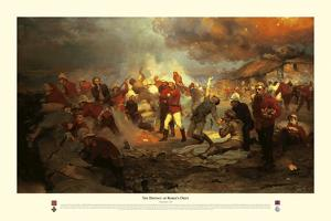 The Defence of Rorke's Drift by Lady Butler