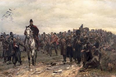 The Return from Inkerman in 1854, 1877 by Lady Butler