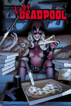 Lady Deadpool Cover Art
