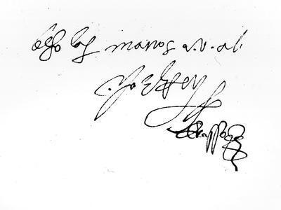 Signature of Lady Jane Grey