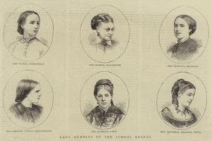 Lady Members of the School Boards