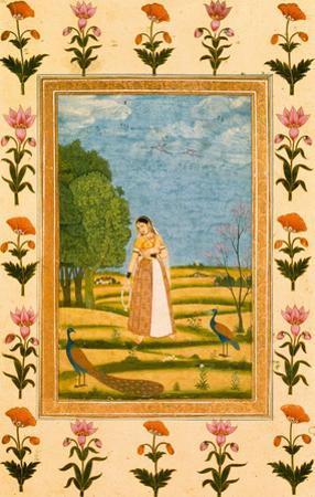 Lady With Peacocks