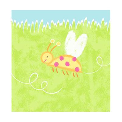 Ladybug over Grass