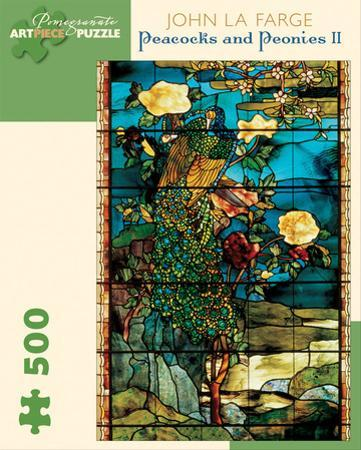 Lafarge/Peacocks & Peonies 500 Piece Puzzle