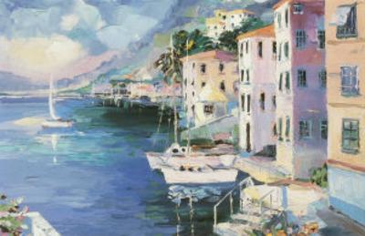 Mediterranean Sunrise by Laforet