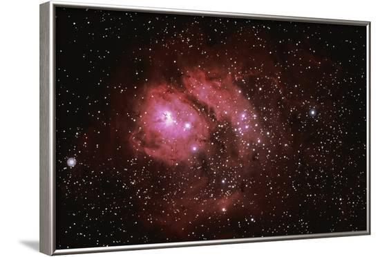 Lagoon Nebula-Stocktrek-Framed Photographic Print