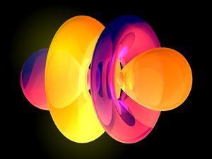 4fz3 Electron Orbital by Laguna Design