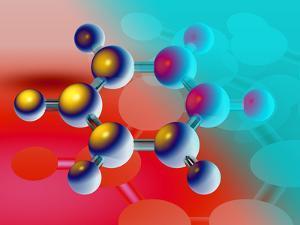 Benzene Molecule by Laguna Design