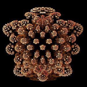 Mandelbulb Fractal by Laguna Design