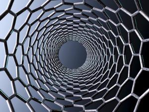 Nanotube Technology, Computer Artwork by Laguna Design