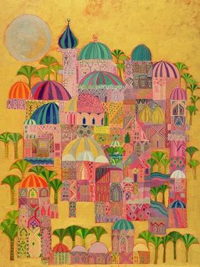 The Golden City, 1993-94 by Laila Shawa