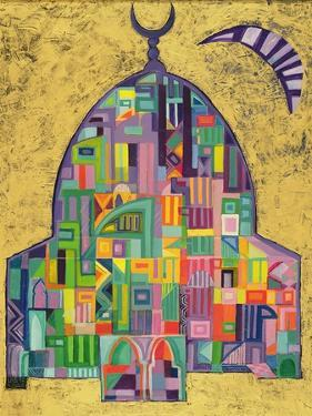 The House of God II, 1993-94 by Laila Shawa