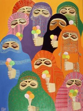 The Impossible Dream, 1988 by Laila Shawa