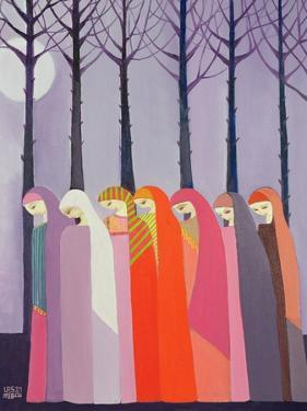 Walk in the Park, 1989 by Laila Shawa