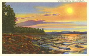 Lake Champlain, Burlington, Vermont