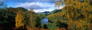 Lake Faskally Highlands Scotland