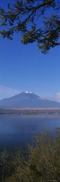 Lake in Front of a Mountain, Mt Fuji, Oshino, Minamitsuru, Yamanashi Prefecture, Japan