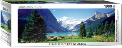 Lake Louise Canadian Rockies 1000 Piece Puzzle
