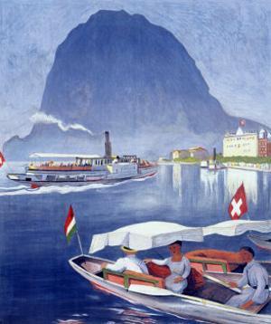 Lake Lugano Power Boat