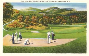 Lake Lure Golf Course, North Carolina